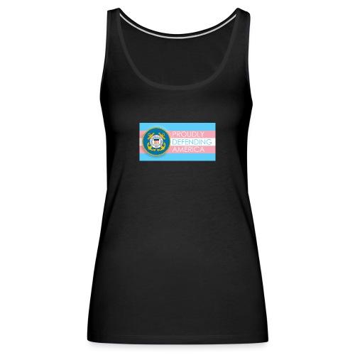 Transgender Coast Guard - Women's Premium Tank Top