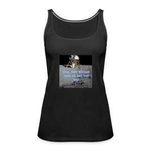 Does this Spacesuit make my butt look big? - Women's Premium Tank Top