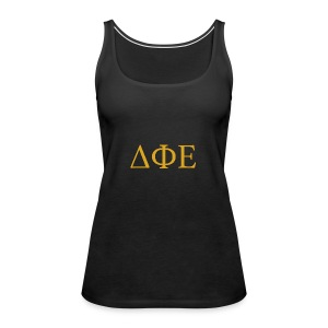 Good Ol Letters - Women's Premium Tank Top