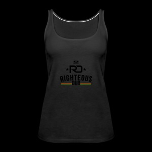 Righteous Dub Logo - Women's Premium Tank Top