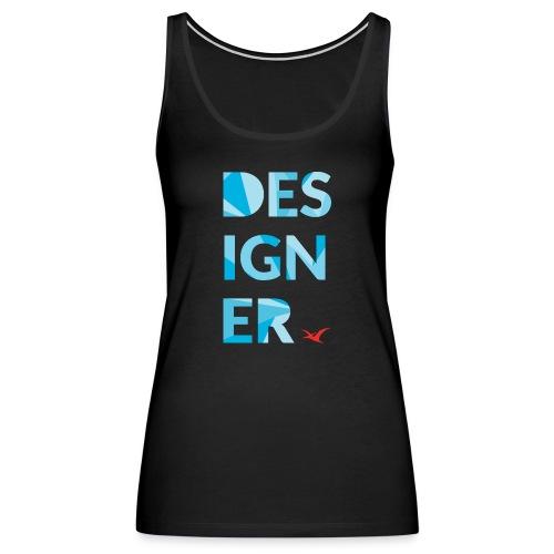 Designer Tee - Women's Premium Tank Top