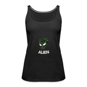 Military Alien - Women's Premium Tank Top