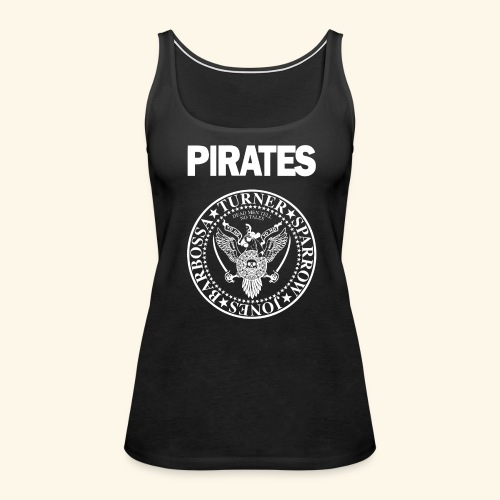 Punk Rock Pirates [heroes] - Women's Premium Tank Top