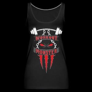 Workout Monster - Women's Premium Tank Top