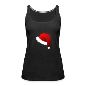 Carmaa Santa Hat Christmas Apparel - Women's Premium Tank Top