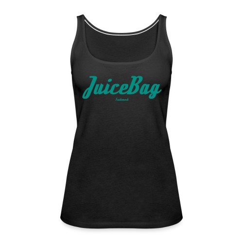 Juicebag Teal - Women's Premium Tank Top
