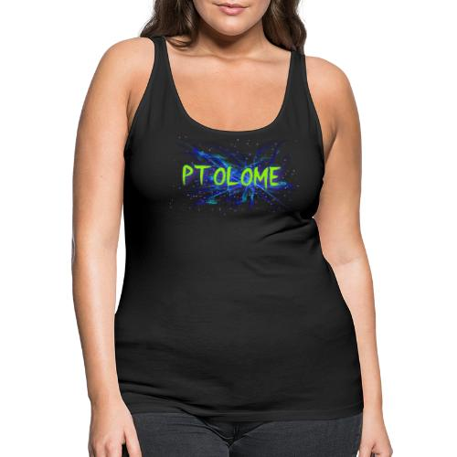 Ptolome Galaxy logo - Women's Premium Tank Top
