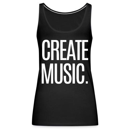 CREATE MUSIC - Women's Premium Tank Top