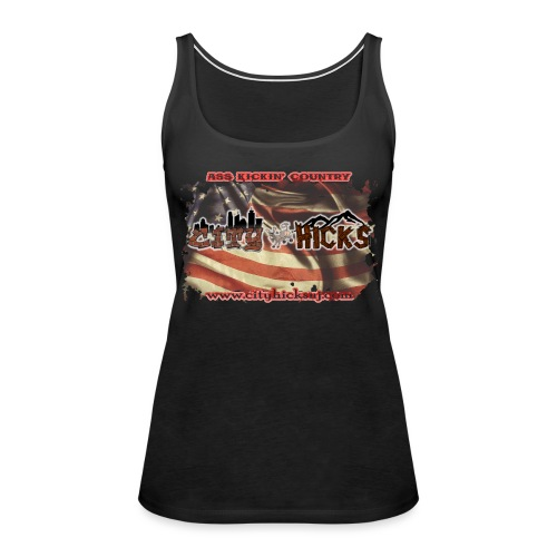 HicksFlag - Women's Premium Tank Top