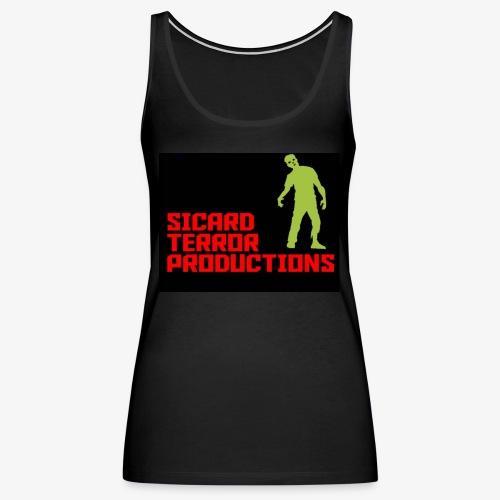 Sicard Terror Productions Merchandise - Women's Premium Tank Top