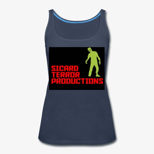 Sicard Terror Productions Merchandise - Women's Premium Tank Top