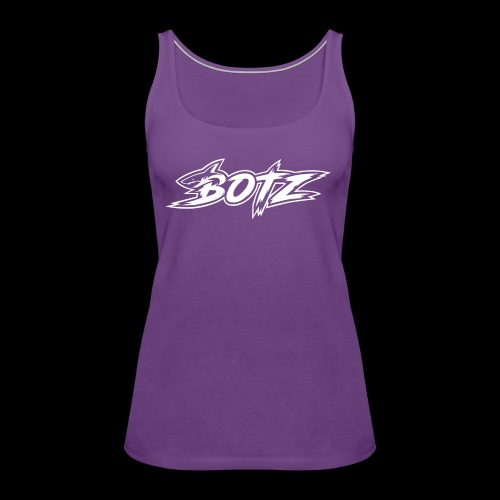 BOTZ White Logo - Women's Premium Tank Top