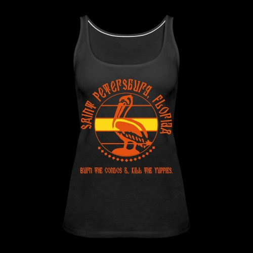 saint pete shirt2 - Women's Premium Tank Top