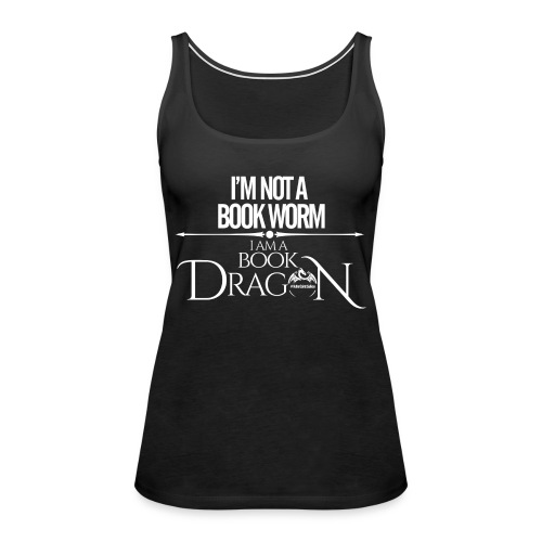 White Book Dragon - Women's Premium Tank Top