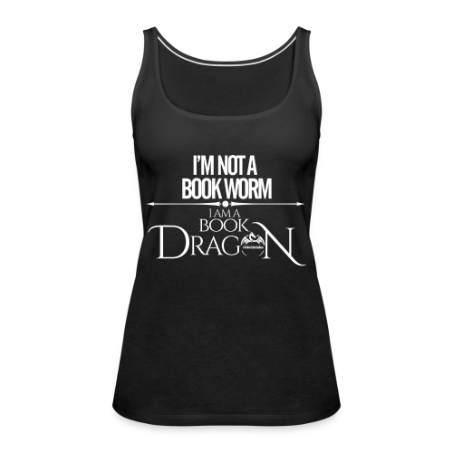 White Book Dragon - Women's Premium Tank Top