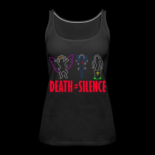 Death Does Not Equal Silence - Women's Premium Tank Top