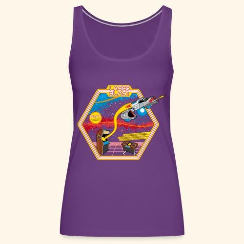 LaserBlast (for darkshirts) - Women's Premium Tank Top