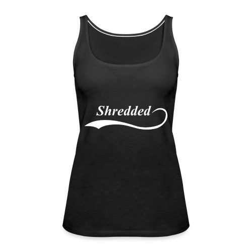 Mens Shredded Crewneck Sweatshirt - Women's Premium Tank Top
