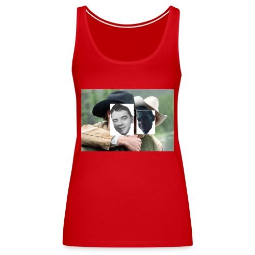 Darien and Curtis Camping Buddies - Women's Premium Tank Top