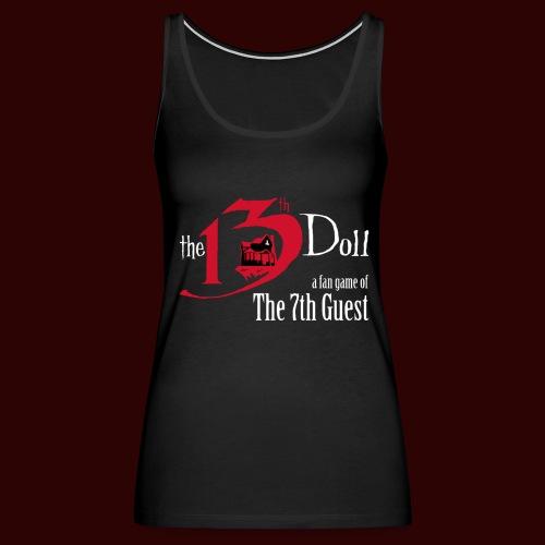 The 13th Doll Logo - Women's Premium Tank Top