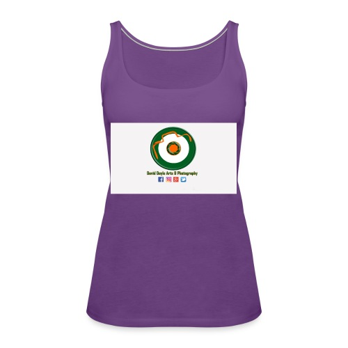 David Doyle Arts & Photography Logo - Women's Premium Tank Top