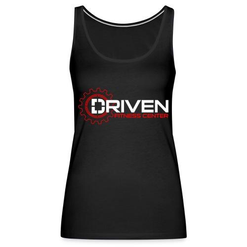 Driven Fitness Horizontal Logo - Women's Premium Tank Top