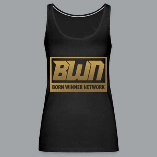 BWN (Gold) - Women's Premium Tank Top