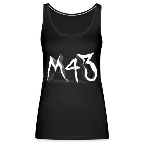 M43 Logo 2018 - Women's Premium Tank Top