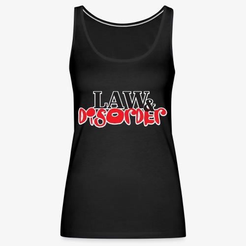 Law DISORDER Logo - Women's Premium Tank Top