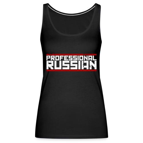 FPS Russia Logo MP Long Sleeve Shirts - Women's Premium Tank Top