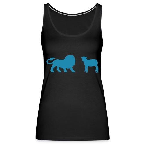 Lion and the Lamb - Women's Premium Tank Top