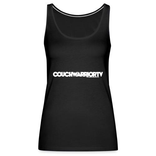 COUCHWARRIORTV Logo Gear - Women's Premium Tank Top