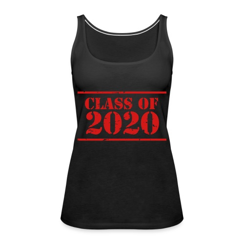 Class of 2020 stencil - Women's Premium Tank Top