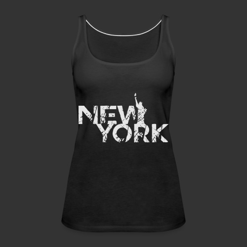 New York (Flexi Print) - Women's Premium Tank Top
