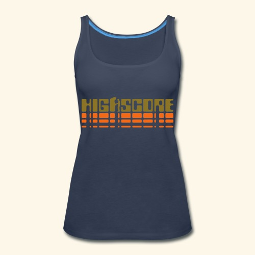 Highscore2 - Women's Premium Tank Top