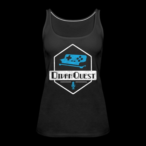 DivanQuest Logo (Badge) - Women's Premium Tank Top