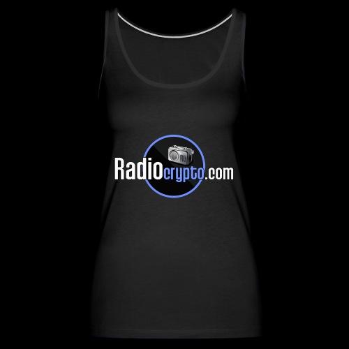 RadioCrypto Logo 1 - Women's Premium Tank Top