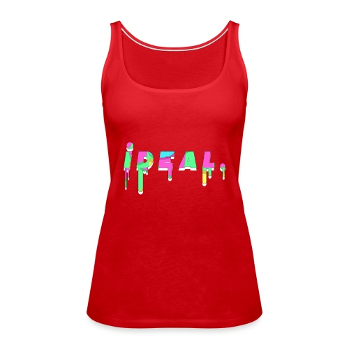 Ideal Acid Drip Logo - Women's Premium Tank Top