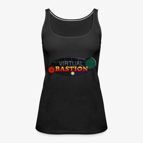 Virtual Bastion: Space Logo - Women's Premium Tank Top