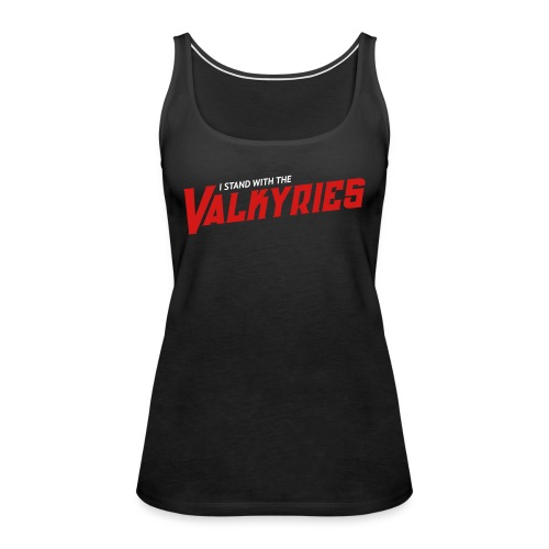 ValkyriesStandWith - Women's Premium Tank Top