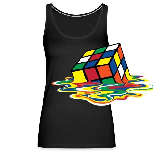 meltingcube - Women's Premium Tank Top