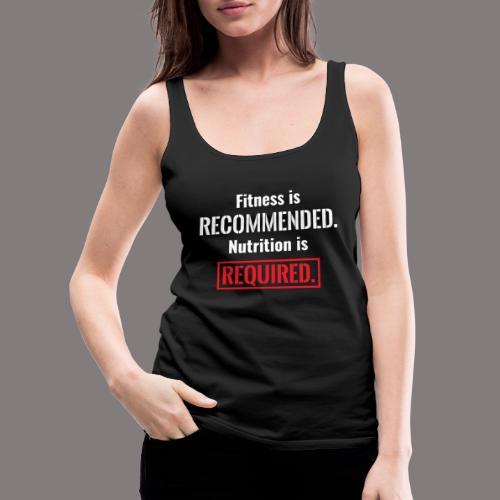 Mens_Nutrition - Women's Premium Tank Top