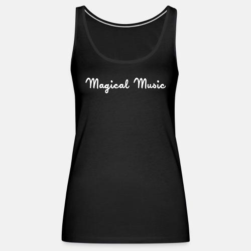 magical_music_text - Women's Premium Tank Top