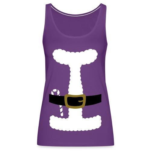 SANTA CLAUS SUIT - Men's Polo Shirt - Women's Premium Tank Top