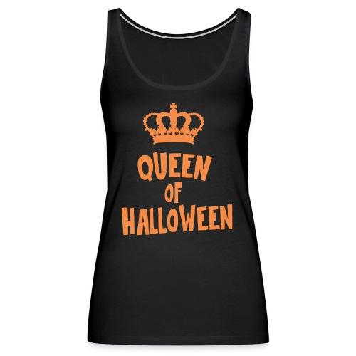 Queen of halloween - Women's Premium Tank Top