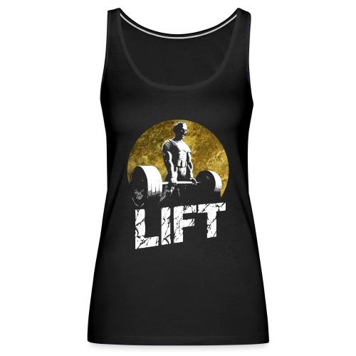 Weightlifting Fitness Gym Screamer - Women's Premium Tank Top
