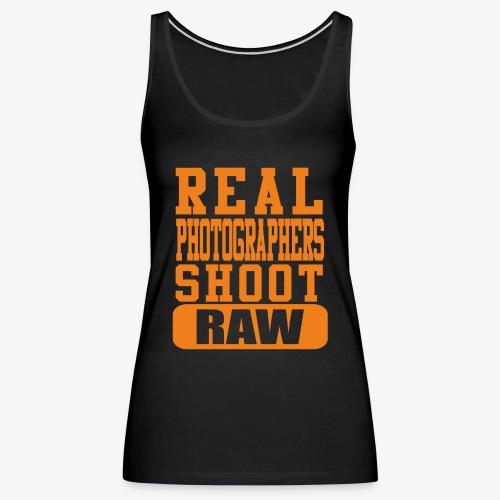 Real Photgs Orange - Women's Premium Tank Top