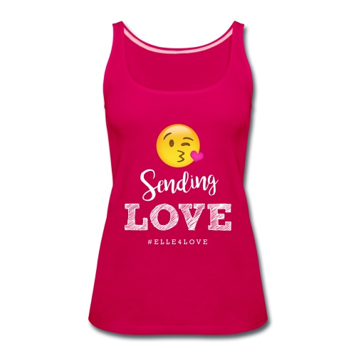 Sending Love - Women's Premium Tank Top