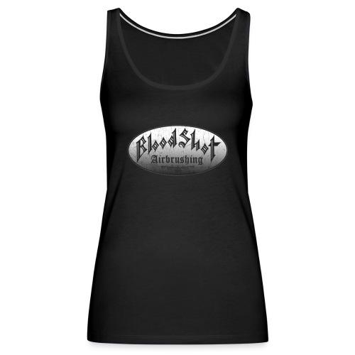 BloodShot Airbrushing Logo - Women's Premium Tank Top
