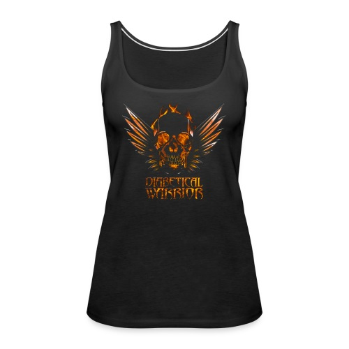 Diabetical Warrior - Women's Premium Tank Top